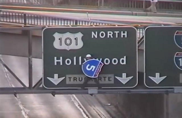 How One Fed-Up Dude Fixed an Awful Highway Sign Himself