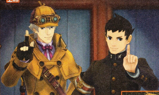 First Look at Sherlock Holmes in the New Ace Attorney