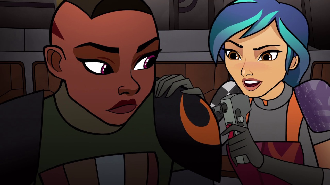 The Latest Star Wars: Forces Of Destiny Short Has A Great Rebels Cameo