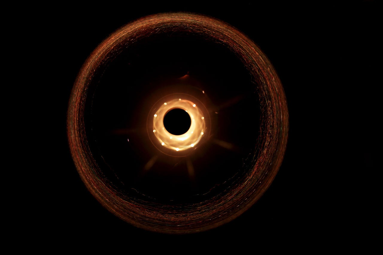 black holes vs solar system - photo #32