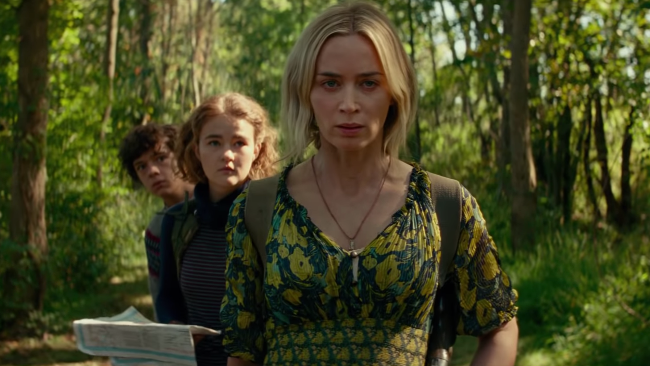In The First Quiet Place 2 Trailer, Sound-Hunting Monsters May Be The Least Of This Family's Problems