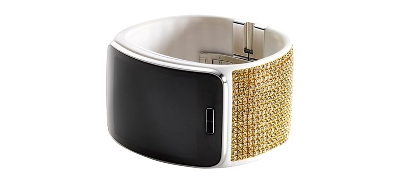Samsung Now Has A Smartwatch With Swarovski Crystals