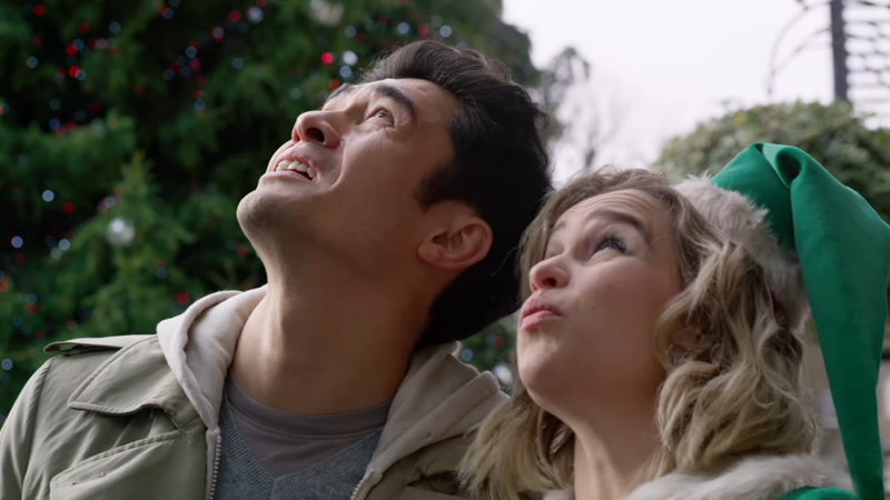 So Is Henry Golding A Ghost In Emilia Clarke's First Post-Game Of Thrones Movie, Or What?