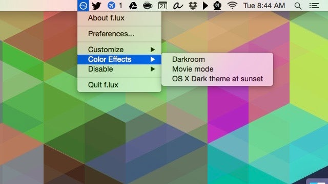 F.lux for Mac Adds Yosemite Support