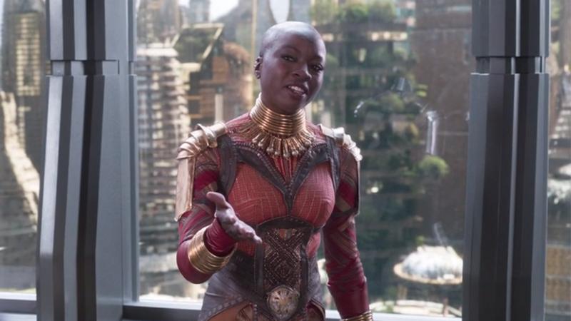 DeletedBlack PantherClip Shows Okoye And W'Kabi Butting Heads