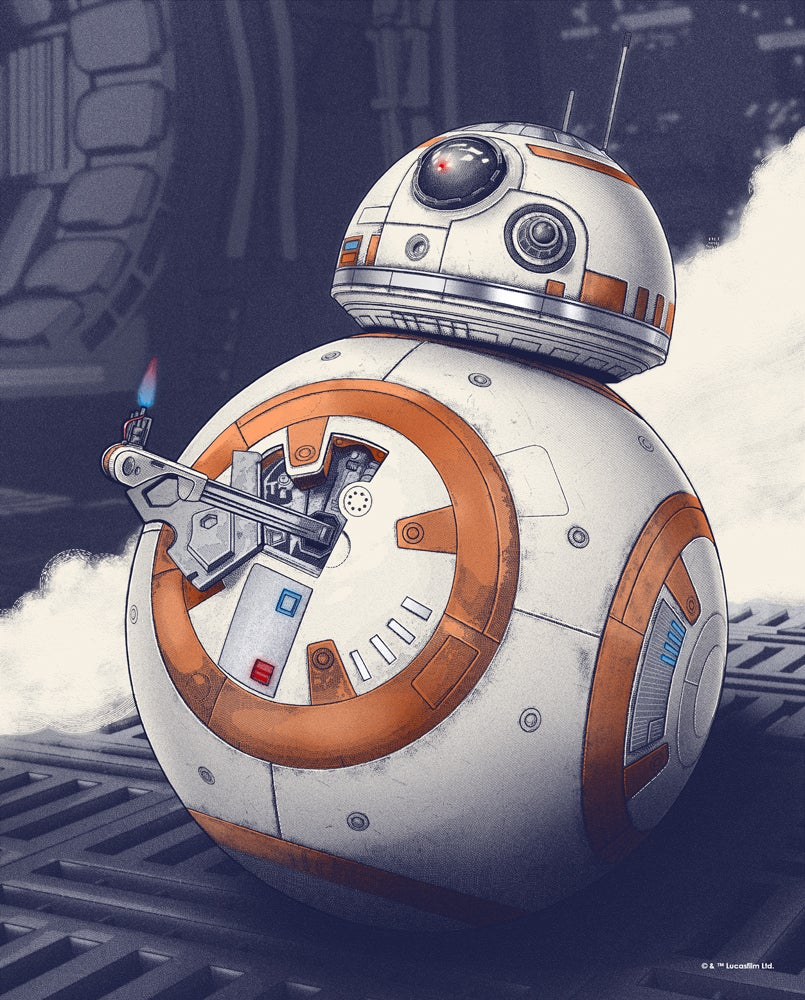 Rey Finds Luke Skywalker in This Gorgeous Force Awakens Poster