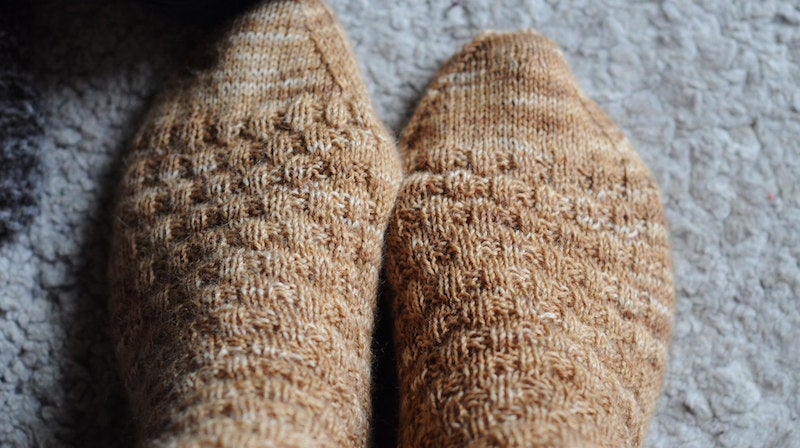 Keep Extra Socks in Your Sleeping Bag for Toasty Feet While Camping