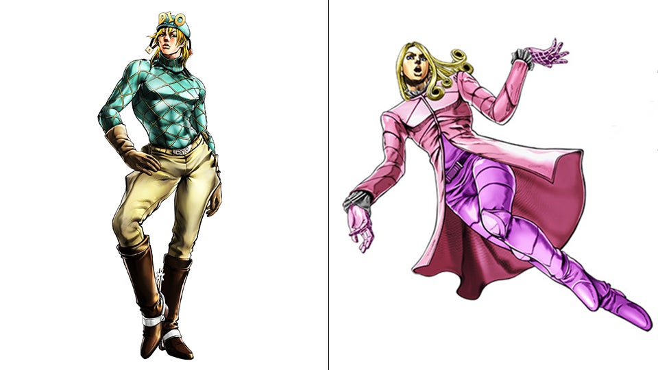 All the Characters in the New JoJo's Bizzare Adventure Game