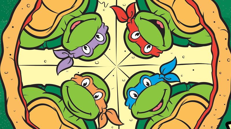 A Look Inside The Teenage Mutant Ninja Turtles'Totally Radical Pizza Cookbook
