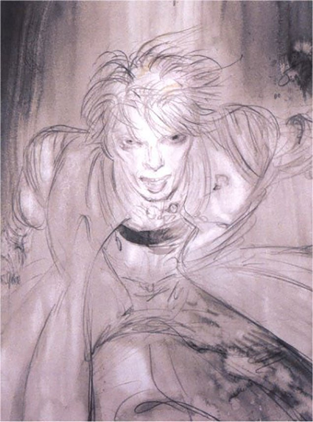 When A Final Fantasy Artist (And Neil Gaiman) Did Sci-Fi David Bowie