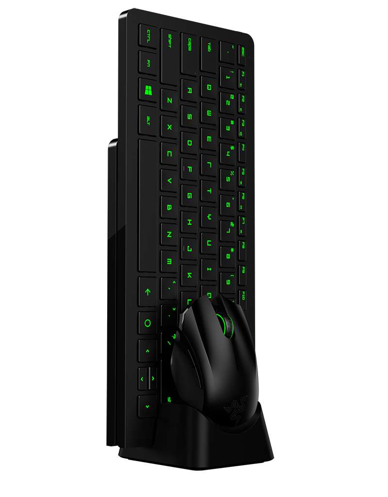 Razer 39 s forge tv aims to bring pc gaming into the living for Living room keyboard and mouse