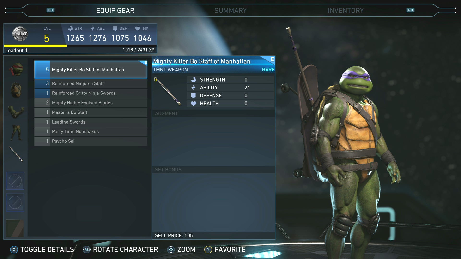 Injustice 2's Ninja Turtles Are In Fine Fighting Form