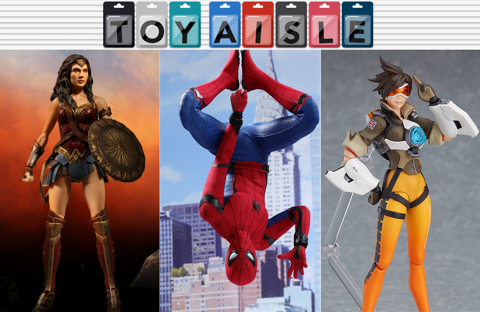 Spectacular New Figures From Spider-Man, Wonder Woman And Overwatch, And Even More Great Toys Of The Week