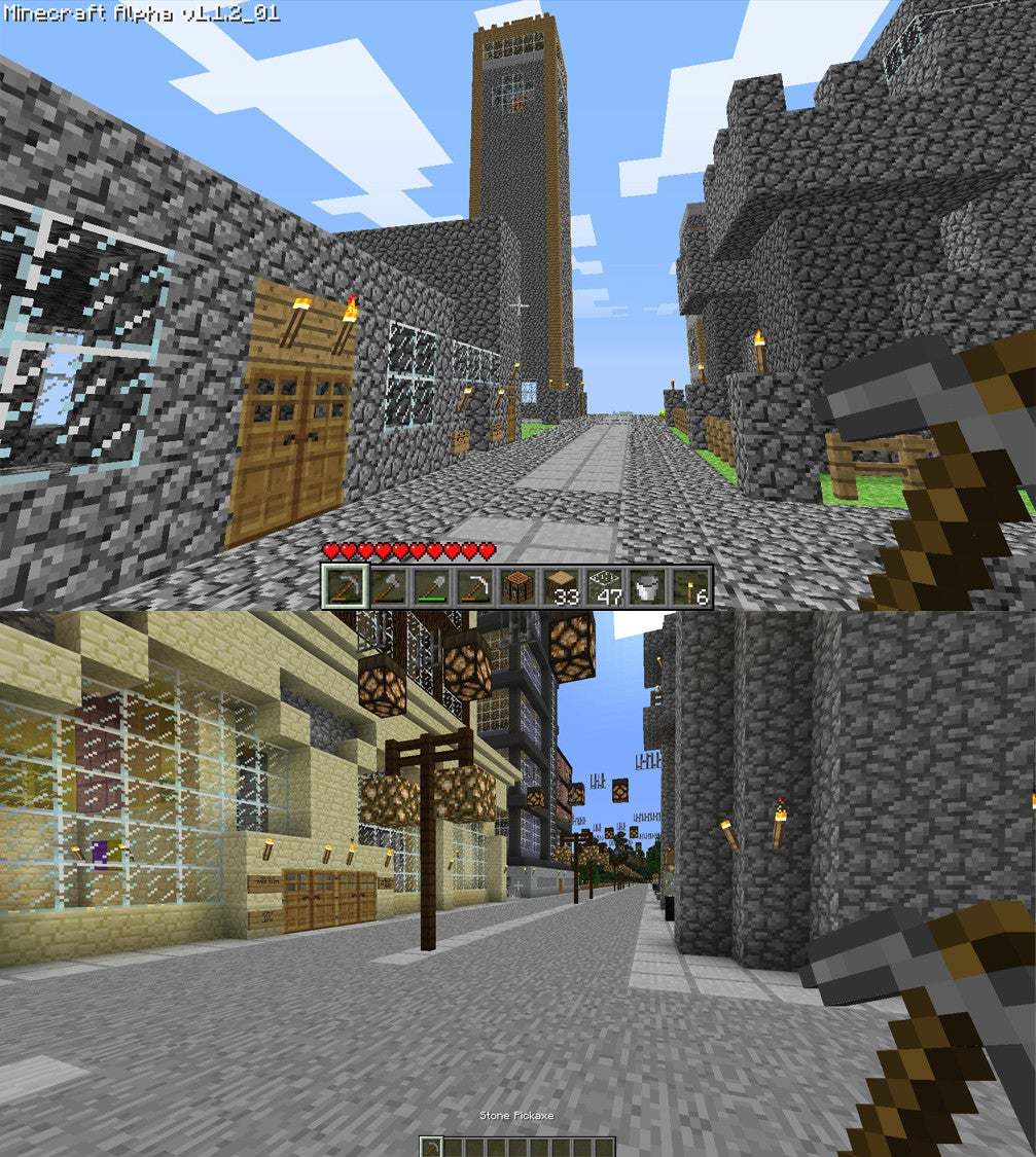 A Lot Can Happen to a Minecraft World in Four Years