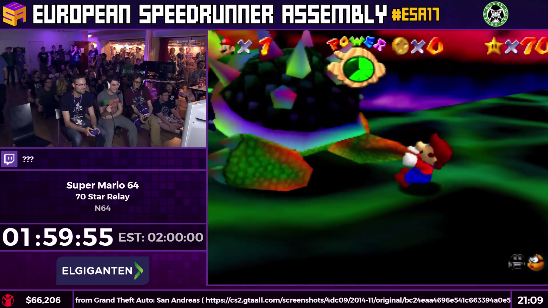 70 People Ran A Super Mario 64 Relay And It Was Incredible