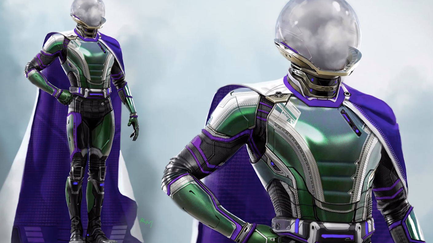 Spider-Man: Far From Home's Mysterio Concept Art Is Even Weirder Than The Real Thing