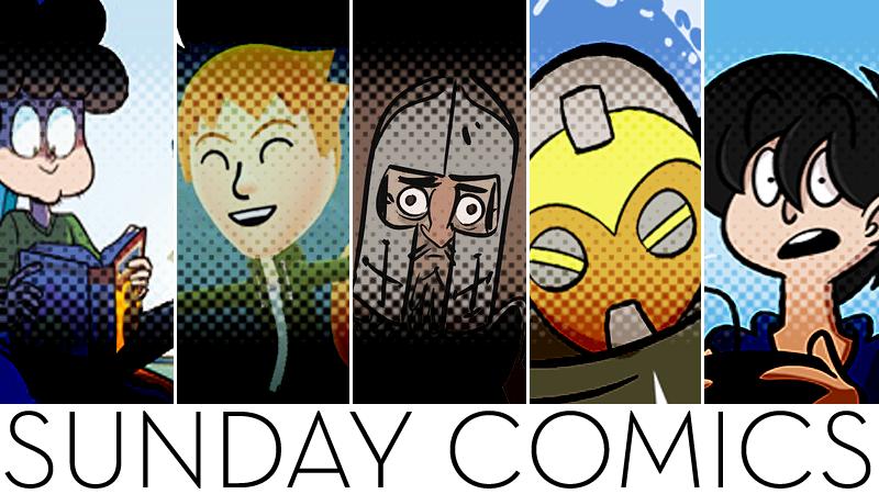 Sunday Comics: Camping Out