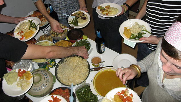 Avoid Overeating as a Dinner Guest by Asking for Seconds