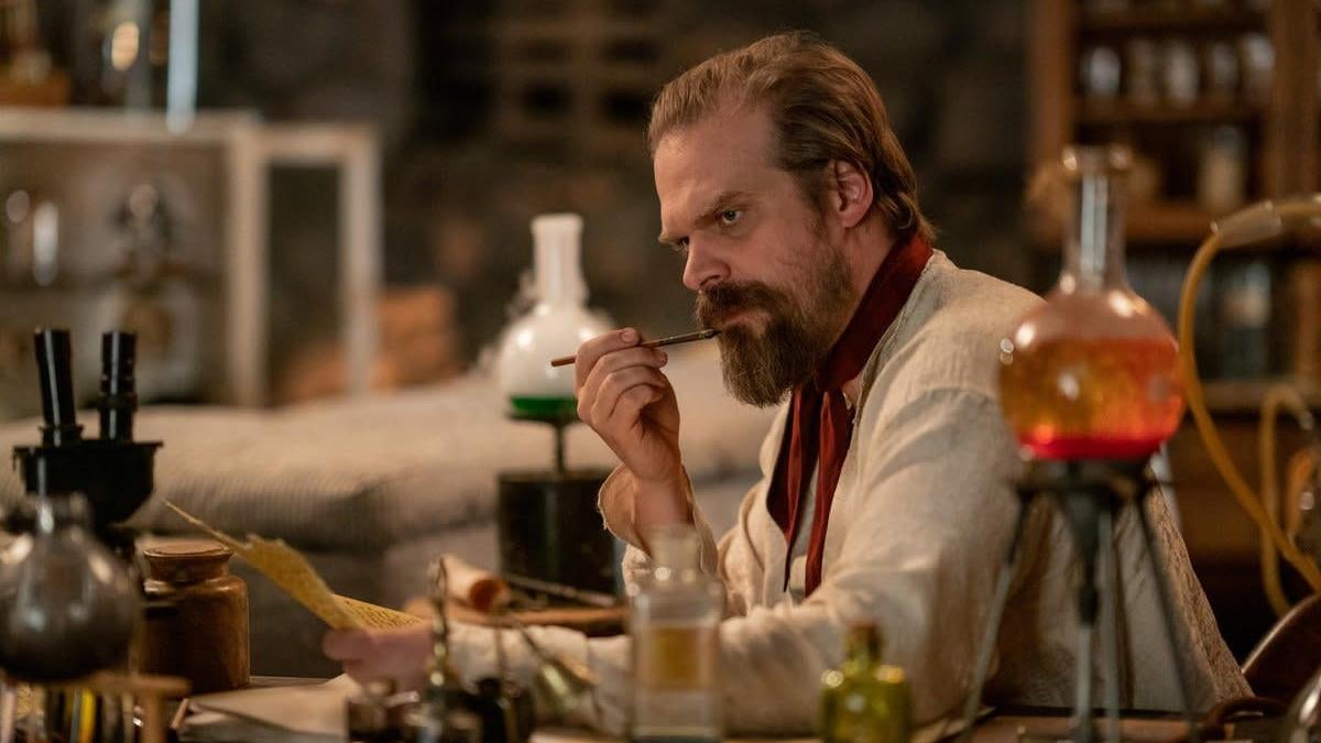 Stranger Things' David Harbour Uncovers His Family's Version Of Frankenstein In A New Netflix Mockumentary