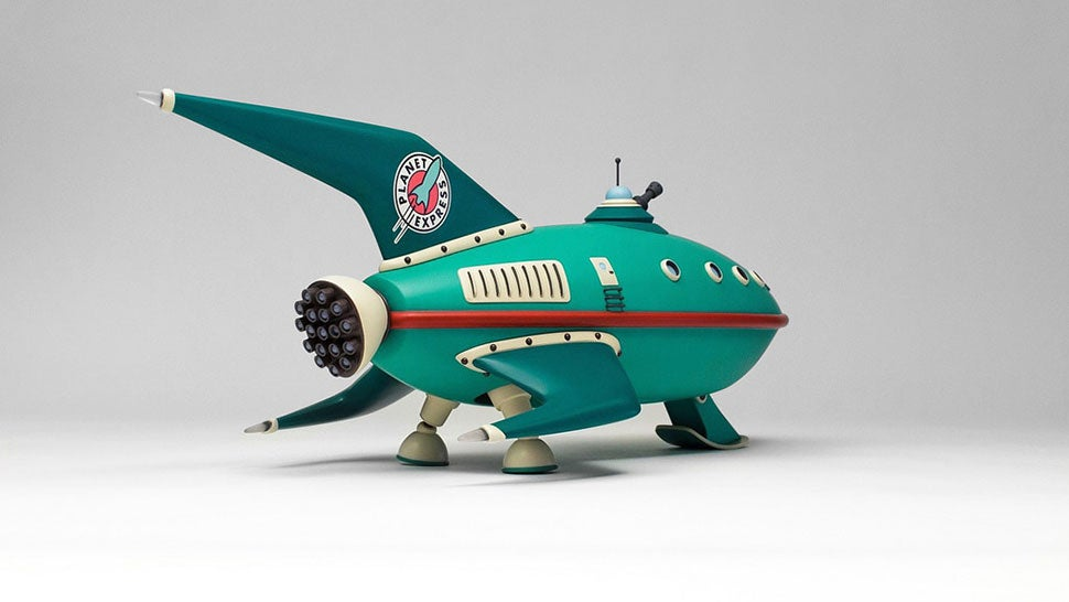 Futurama Ship Looks Like CGI, Is Actually Real Model