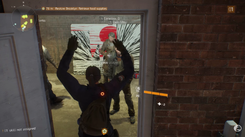 The Division Trolls Are Blocking Other Players' Progress By Standing In A Doorway