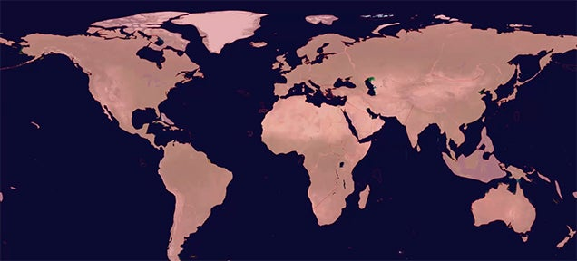 Where Was The Last Place On Earth Discovered By Humans?