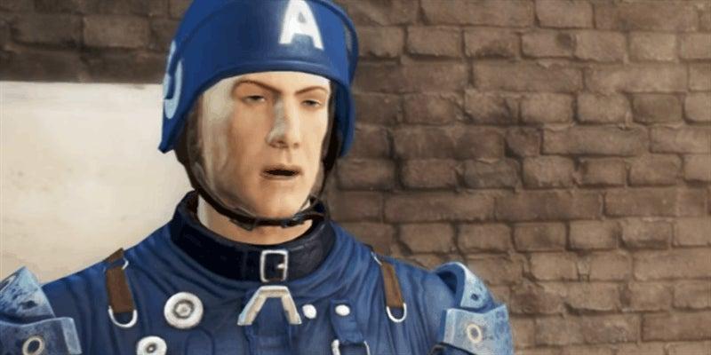 Fallout 4's Impression Of The Captain America: Civil War Trailer