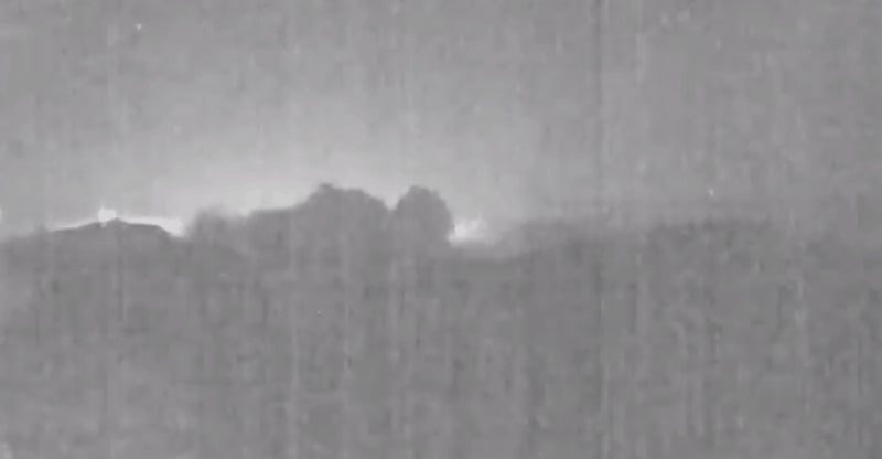 The Most Metal Video Of The Year Is This Meteor Soaring Behind An Erupting Volcano
