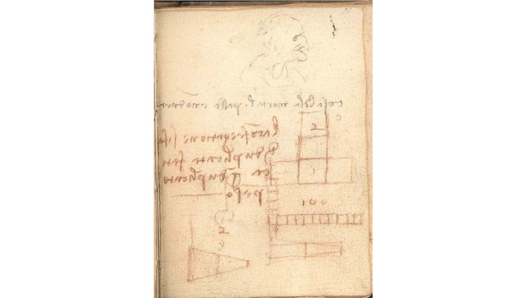 Engineer Discovers Something Amazing In Da Vinci's 'Irrelevant Scribbles'