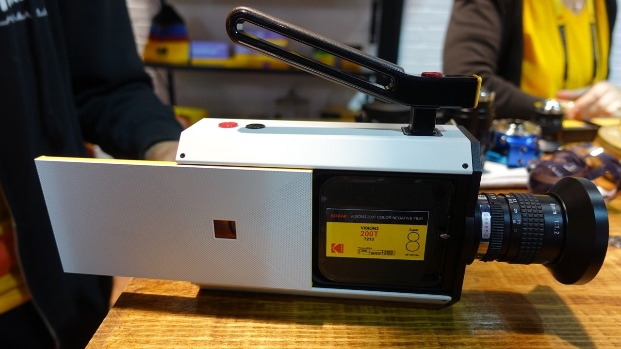 Kodak Swears It's Not Giving Up On That Digital Super 8 Camera