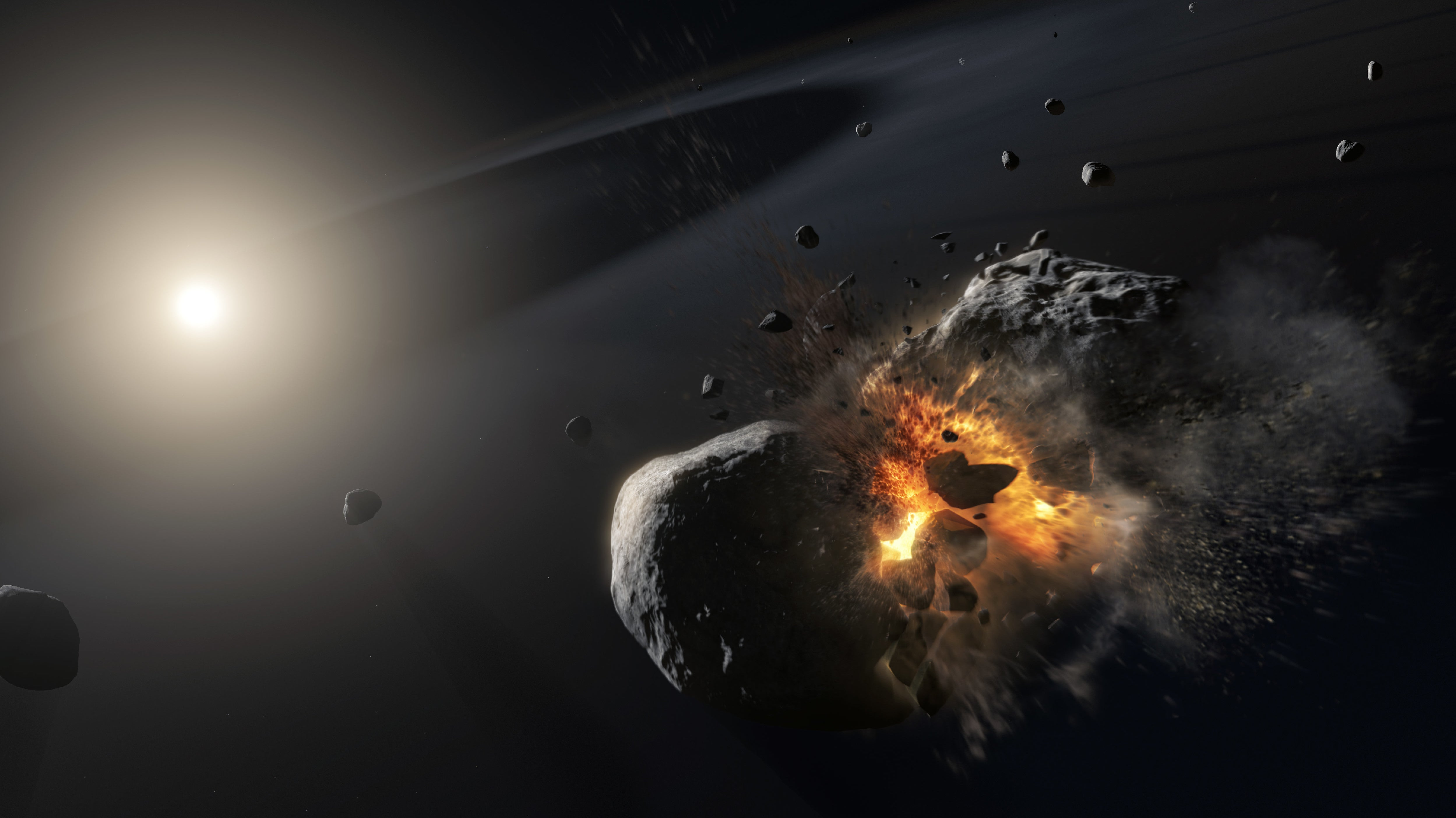 Vanishing Exoplanet Might Actually Be The Aftermath Of A 'Supercatastrophic' Collision