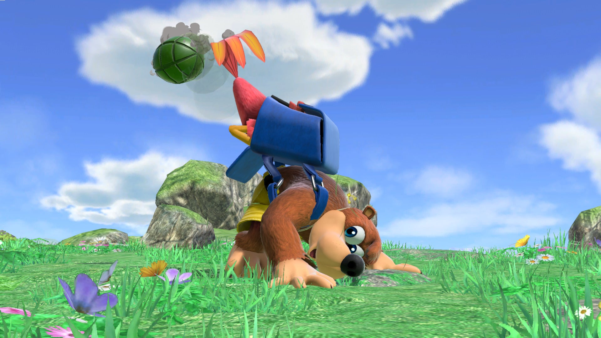 Banjo And Kazooie Are A Puzzle In Smash Ultimate
