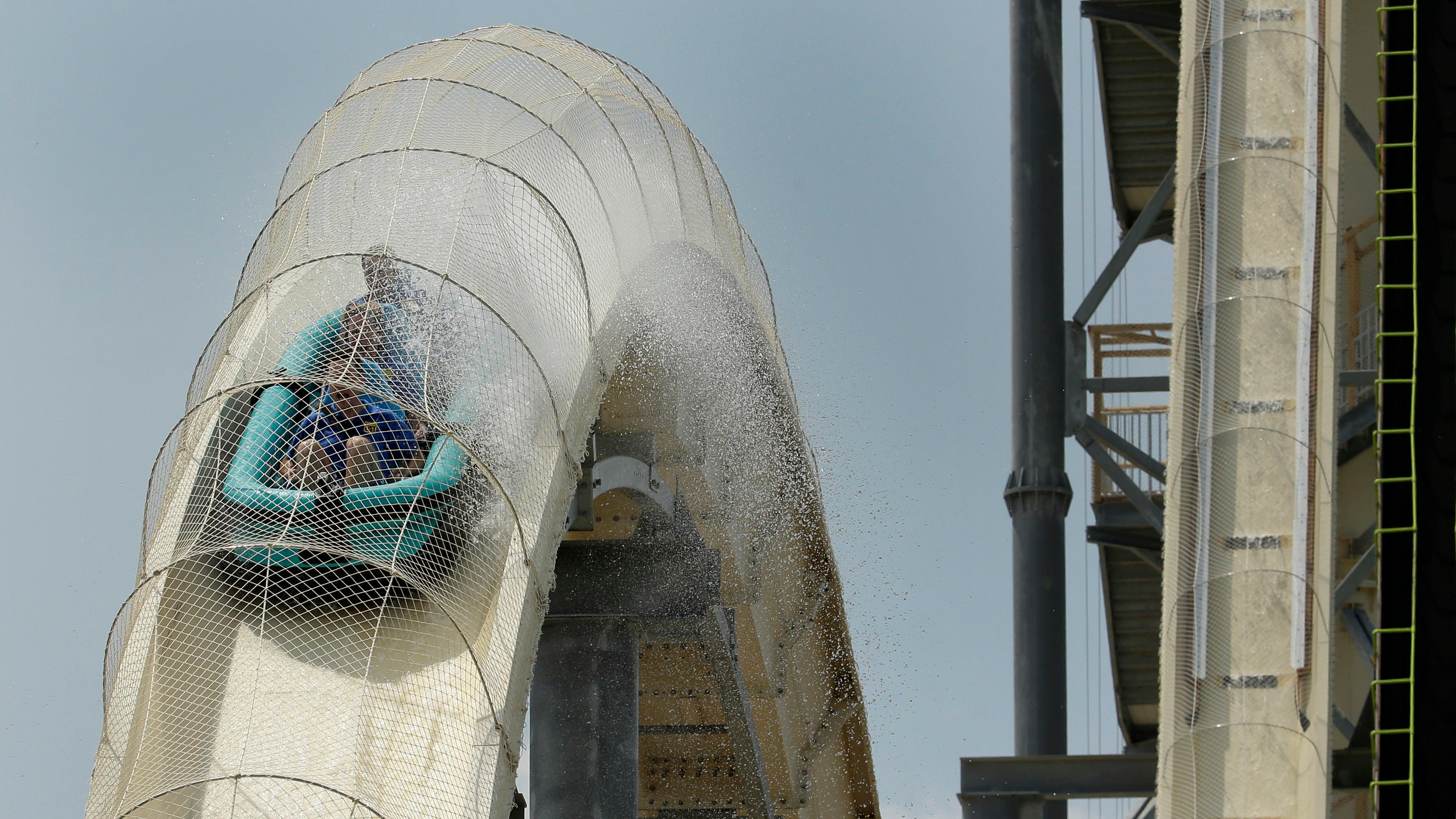 Operators Of Verrückt, World's Largest Water Slide, Charged In 2016 Death Of 10-Year-Old Rider