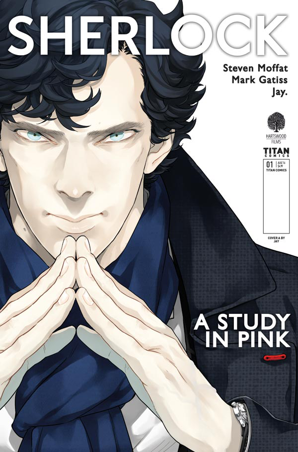 The Sherlock Manga Is Coming to America, and Here's Your First Look