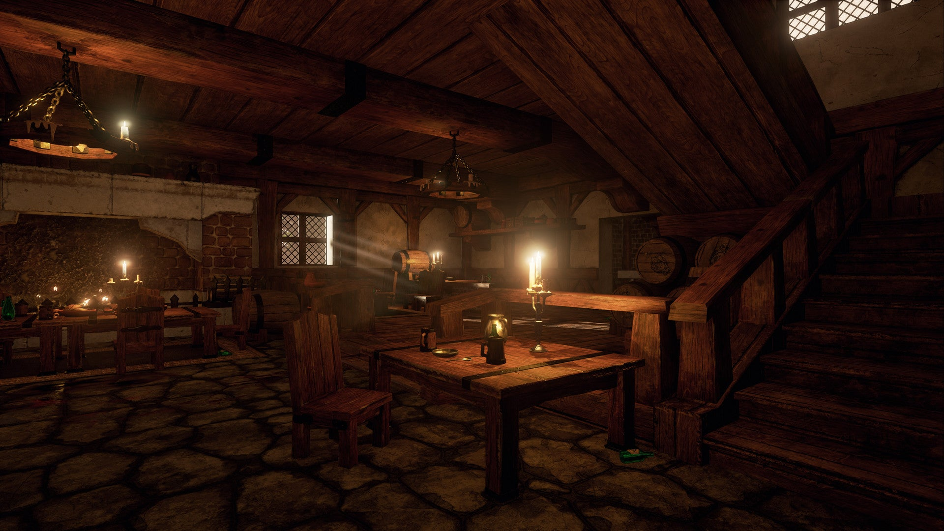 WoW's Goldshire Inn Looks Great in Unreal Engine 4, Despite the Murder