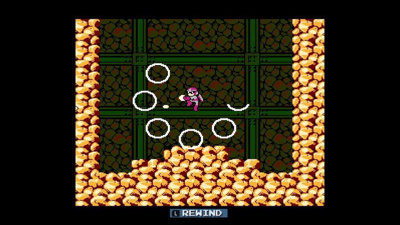 The 'Rewind' Feature Makes Mega ManOn Switch Far More Pleasant