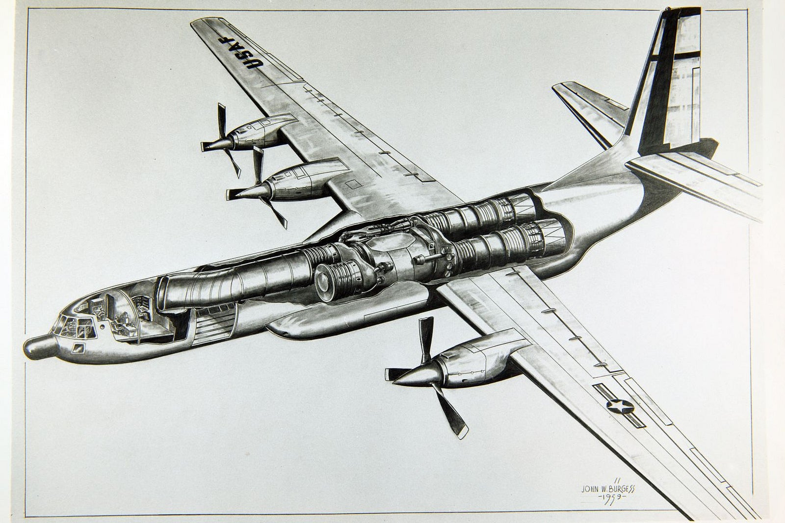 Feast Your Eyes On These Rare Aircraft Cutaway Drawings ...
