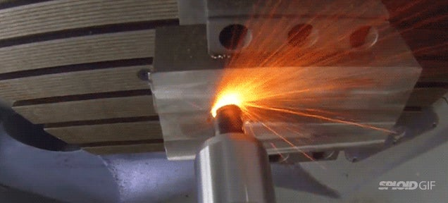Cool video: Ceramic head cuts one of the toughest metals in the world