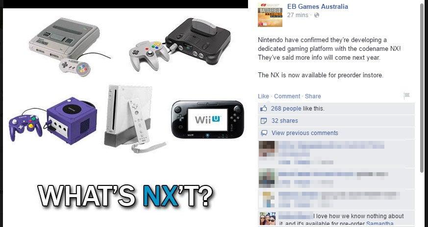 Haha, You Can Preorder A Nintendo NX