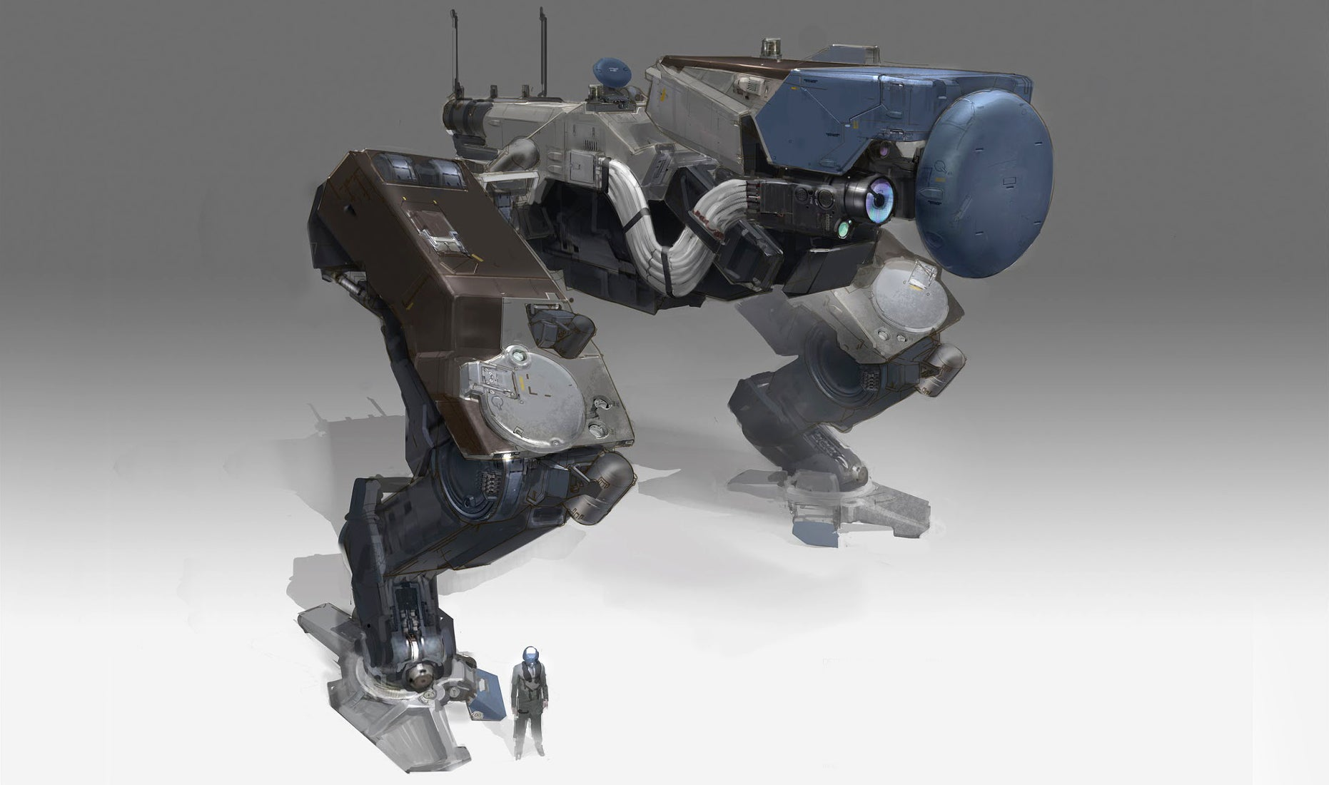 Would we ever see a world in which Titanfall mechs rule the Earth?