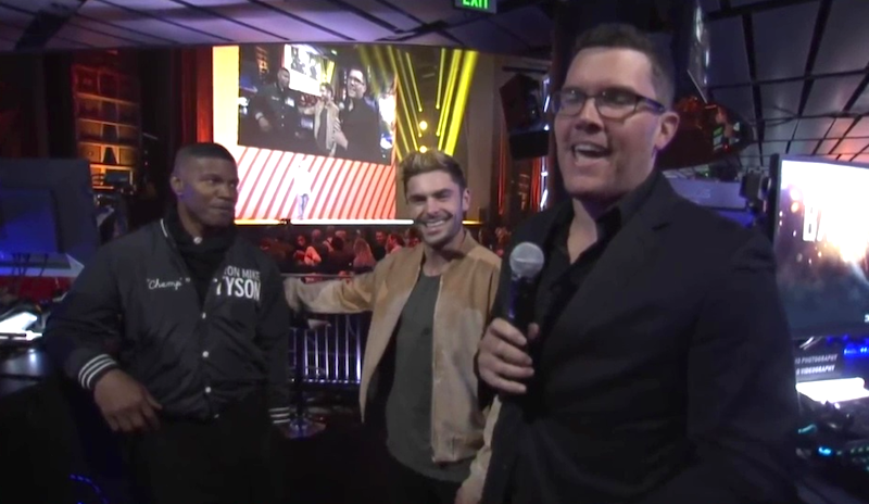 Jamie Foxx And Zac Efron Are Clearly Hyped To Play Some Battlefield