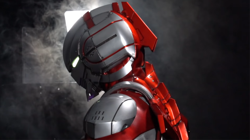 The Suits From Netflix's Ultraman Anime Look Fantastic In Live Action