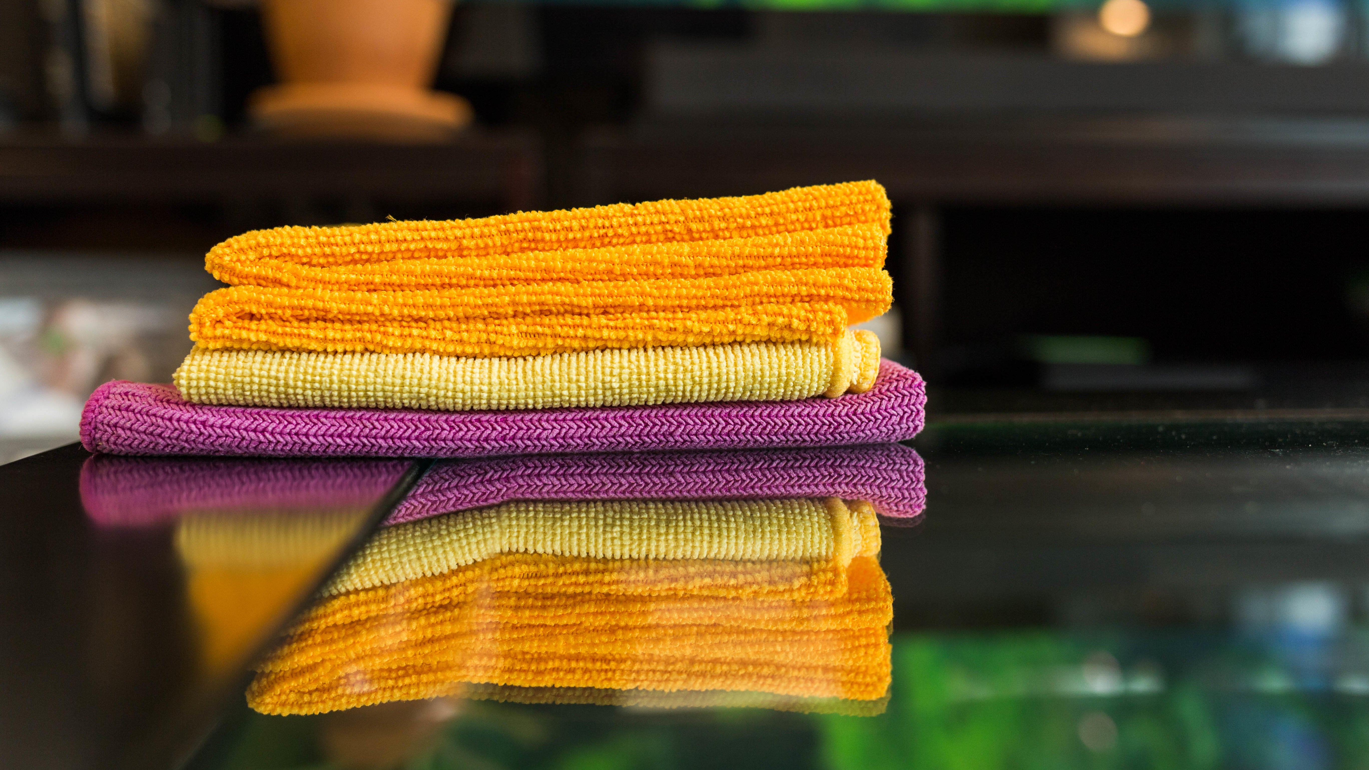 Use Microfibre Towels To Clean Your Home