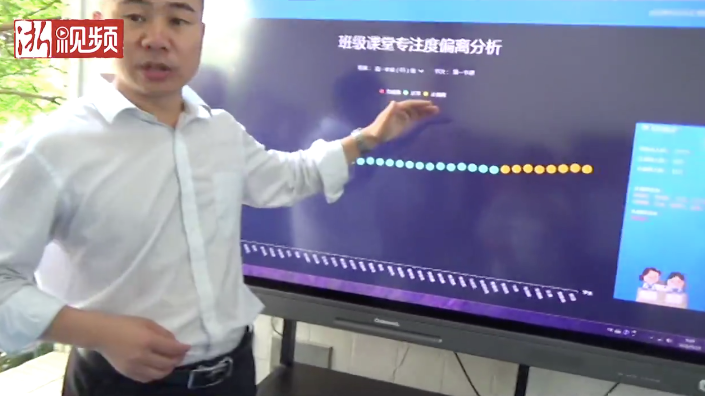 Chinese School Piloting Face-Recognition Software To Make Sure Students Pay Attention In Class