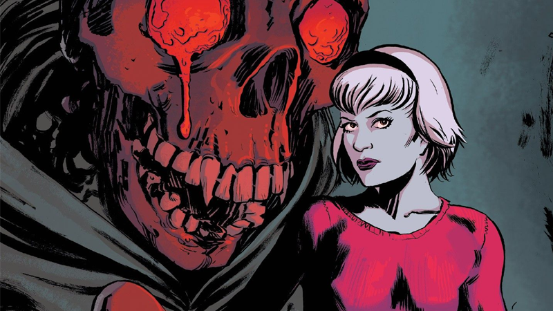 For Satan S Sake Read The Chilling Adventures Of Sabrina