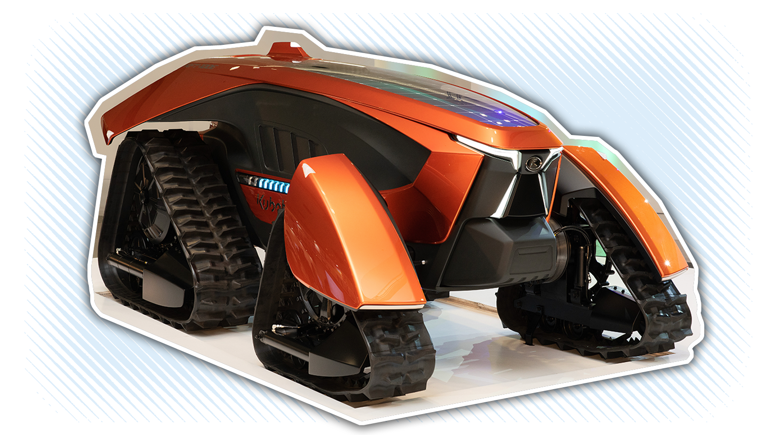 Concept Tractors Are A Thing And Boy Does This Kubota One Look Pissed