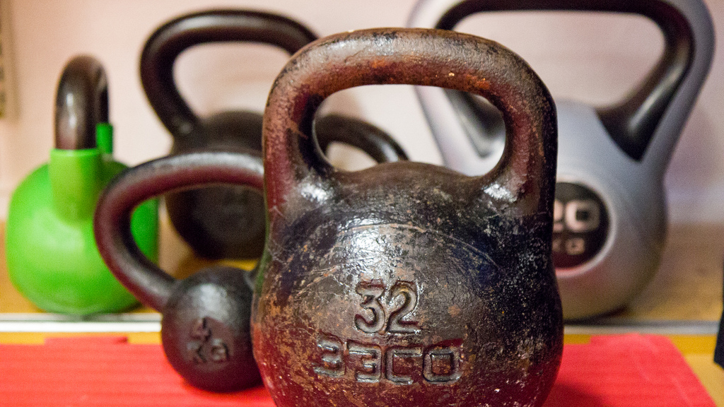 Keep Your Kettlebells Where You Can See Them