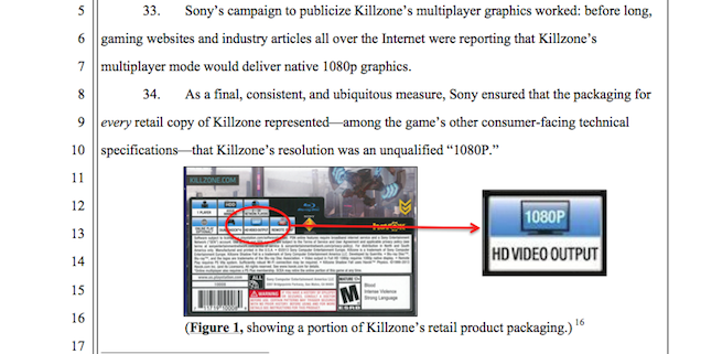 Someone's Suing Sony Because A PS4 Game Isn't 1080p