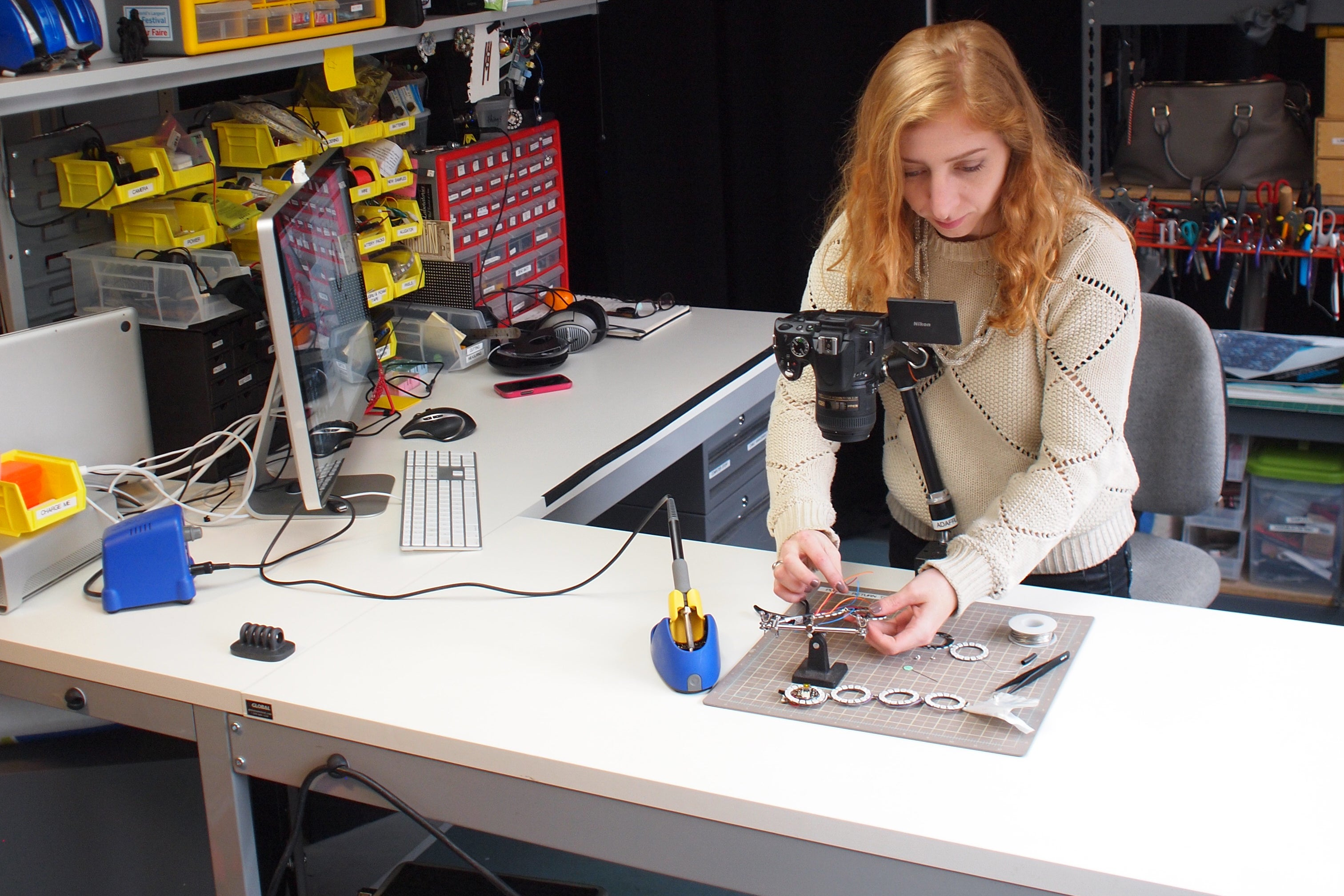 I'm Becky Stern of Adafruit, and This Is How I Work