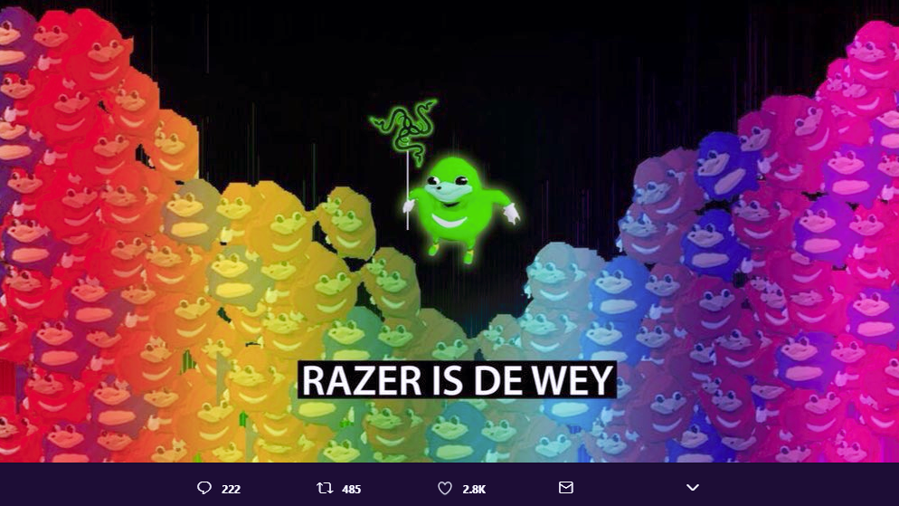 Does Razer Know It Posted A Racist Meme? [Updated]